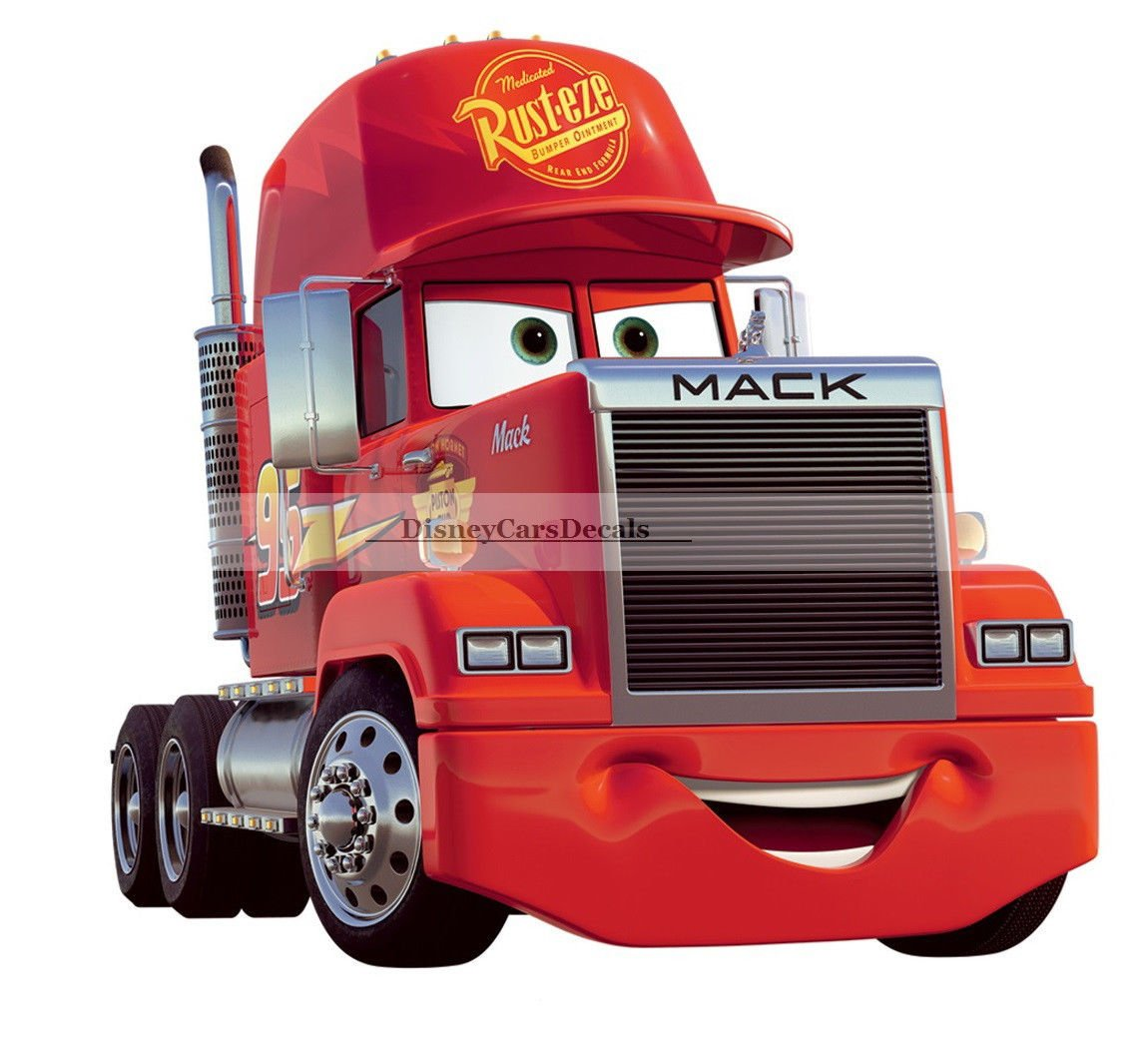 Mack truck cars Disney Autocollant amovible Wall Sticker Home Decor Art livraison gratuite