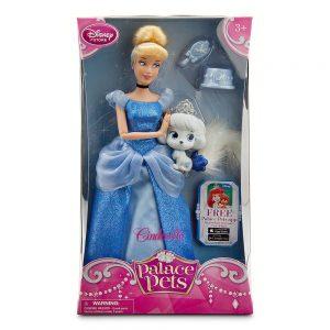 "12"" Cinderella and Pumpkin Palace Pet Doll and Figure Set"