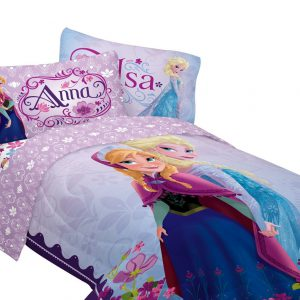 2x Disney 64 By 86-inch Frozen Celebrate Love Comforter, Twin - 86 X 64 X 3 Inches