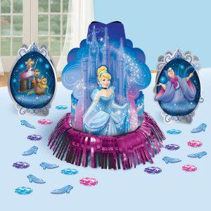 Amscan Cinderella 'Sparkle' Table Decorating Kit (23pc)