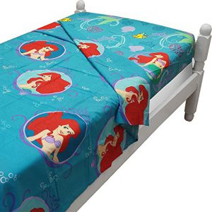 """Ariel Little Mermaid """"Gleaming"""" Twin Size Sheet Set"""
