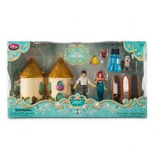 Ariel Mini Castle Playset The Little Mermaid Disney Exclusive