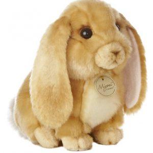 """Aurora World Miyoni Lop Eared Rabbit Tan 10"""" Plush"""