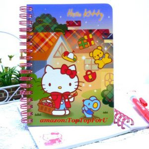 Authentic Sanrio Hello Kitty Record Book Notebook Journal Lined