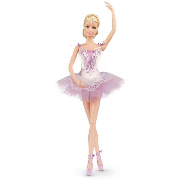 Barbie 2015 Collection Ballet Wishes Ballerina Doll Wearing Lavender Tulle Tutu for Ages 6 and Up