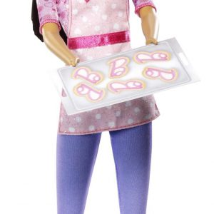 Barbie Careers Cookie Chef African-American Fashion Doll