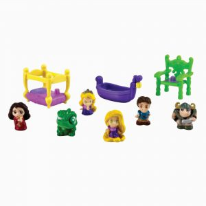 Blip Squinkies Princess Bubble Pack - Rapunzel with Tiny Toys