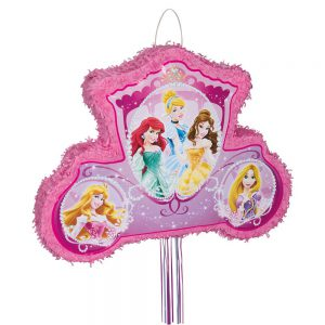 Carriage Disney Princess Pinata, Pull String