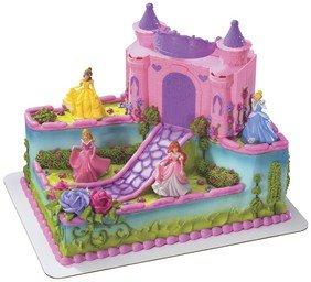 DecoPac Disney Princess Castle Decoset
