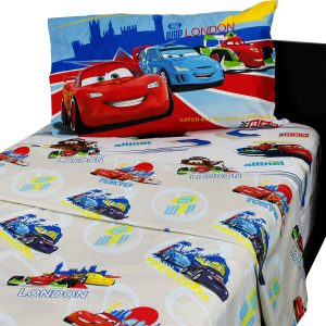 Disney Cars Comforter Collection - Twin Sheet Set