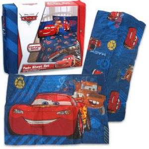 Disney Cars Hometown Twin Sheet Set