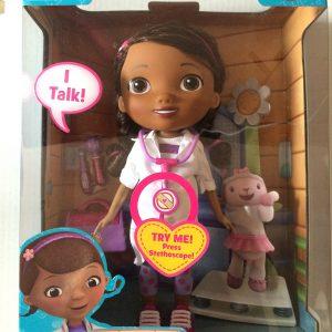 Disney Doc McStuffins Talking Doll 11 in
