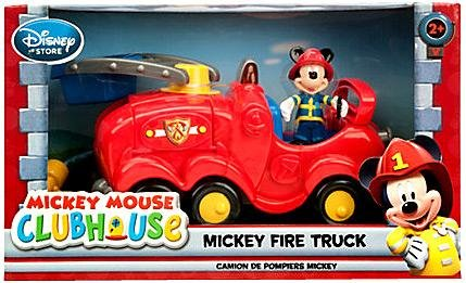 Disney Exclusive Mickey Mouse Clubhouse Mickey Fire Truck Playset
