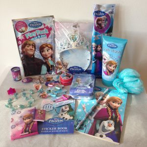 Disney Frozen 20+ Piece Gift Set featuring Princess Elsa & Anna, perfect for Christmas Stocking Stuffers, Easter Basket Fillers, Birthdays and other Special Occassions