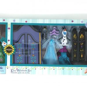Disney Frozen Elsa Doll and Wardrobe Set