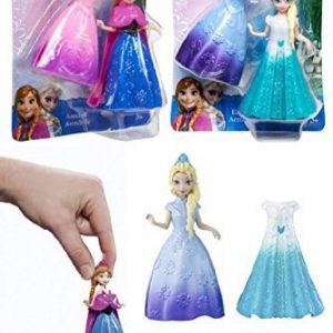 Disney Frozen Magiclip Anna and Elsa 4pcs Doll Set