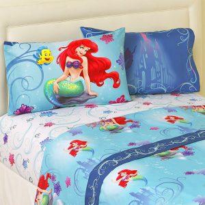 Disney Little Mermaid Full Sheet Set
