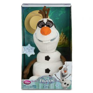 Disney Olaf Singing Plush - Frozen - Medium - 10 1/2''