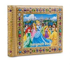 Disney Parks Exclusive Deluxe Princess Autograph Book Photo Album