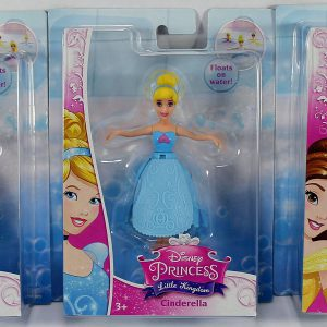 Disney Petal Float Princess Set of 3 - Rapunzel, Cinderella & Belle