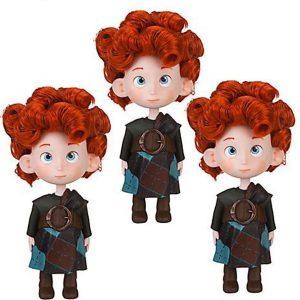 Disney / Pixar BRAVE Movie Exclusive Doll Set Triplets Bears