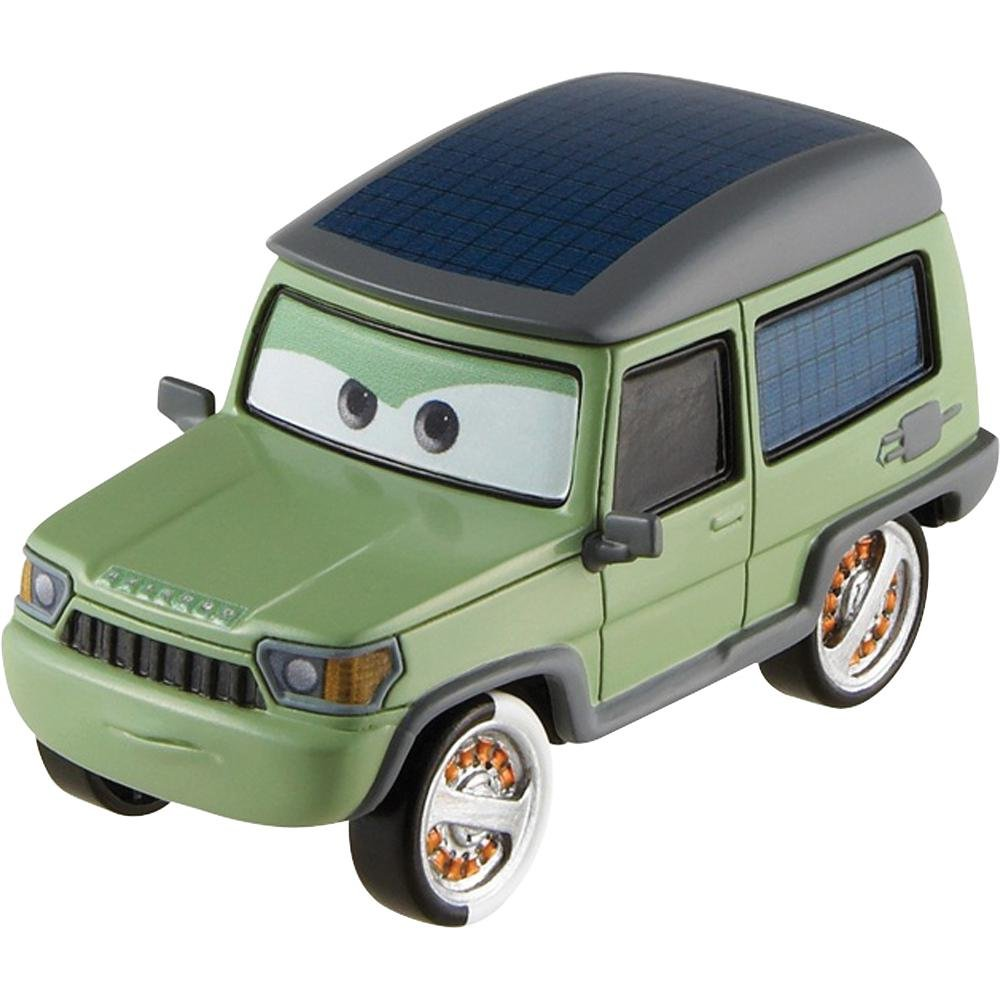 Disney Pixar Cars 2 Movie 155 Die Cast Car 17 Miles Axlerod By Mattel Toysplus