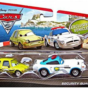 Disney / Pixar CARS 2 Movie 155 Die Cast Car 2Pack Security Guard Finn McMissile Acer