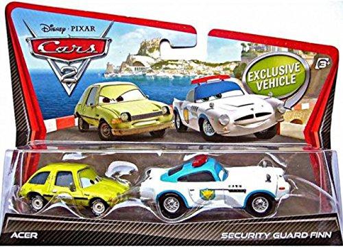 Disney Pixar Cars 2 Movie 155 Die Cast Car 2pack Security Guard