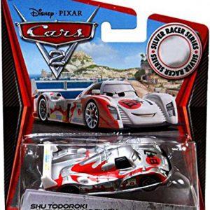 Disney / Pixar CARS 2 Movie Exclusive 155 Die Cast Car SILVER RACER Shu Todoroki