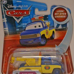 Disney / Pixar CARS Movie 155 Die Cast Car with Lenticular Eyes Race Tow Truck Tom