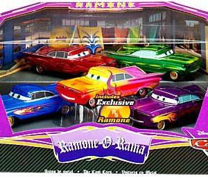 Disney / Pixar CARS Movie Exclusive 1:43 Die Cast Car 5 Piece Set Ramone-O-Rama