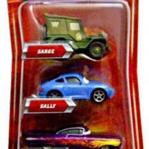 Disney / Pixar CARS Movie Exclusive 155 Die Cast 4Pack Sarge, Ramone, Mater Sally