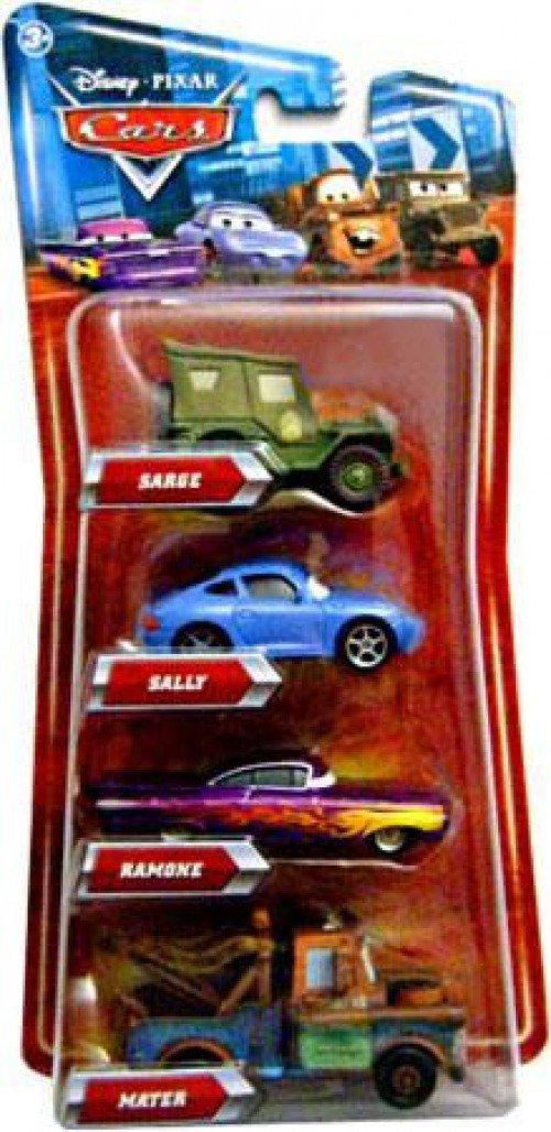 Disney Pixar Cars Movie Exclusive 155 Die Cast 4pack Sarge