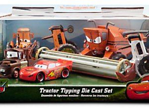 Disney / Pixar CARS Movie Exclusive 6-Piece 1:48 Scale Die Cast Set Tractor Tipping [Includes Frank the Combine!]
