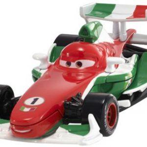 Disney Pixar Cars 2 Francesco Bernoulli #4 (Red, White & Green)