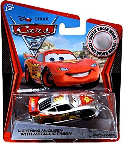 Disney Pixar Cars 2 Movie Exclusive 155 Die Cast Car Silver