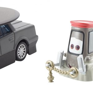 Disney Pixar Cars Collector Diecast Father Bruke and Cardinal Pitty 2-Pack