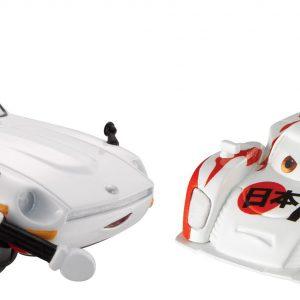 Disney Pixar Cars Collector Diecast Shu Todoroki and Mach Matsu, 2-Pack