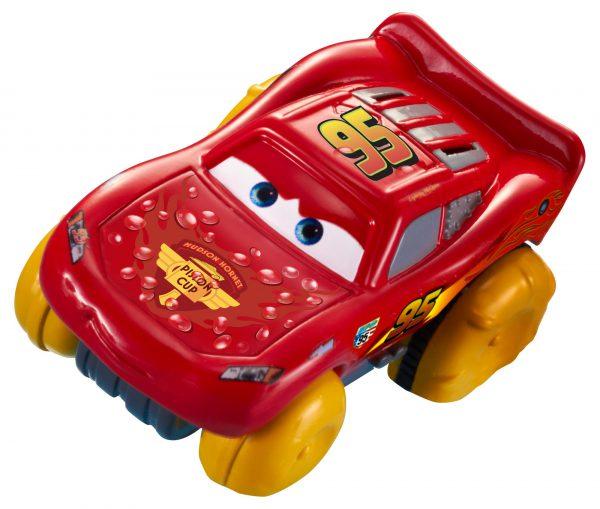 Disney Pixar Cars Hydro Wheels Lightning McQueen Bath Vehicle