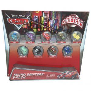 Disney Pixar Cars Micro Drifters 9 Pack