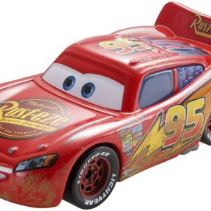 Disney Pixar Cars Road Repair Lightning McQueen Vehicle