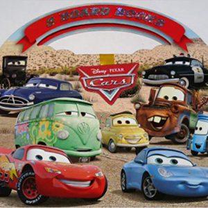Disney Pixar Cars Set of 8 Board Books with Take-Along Case