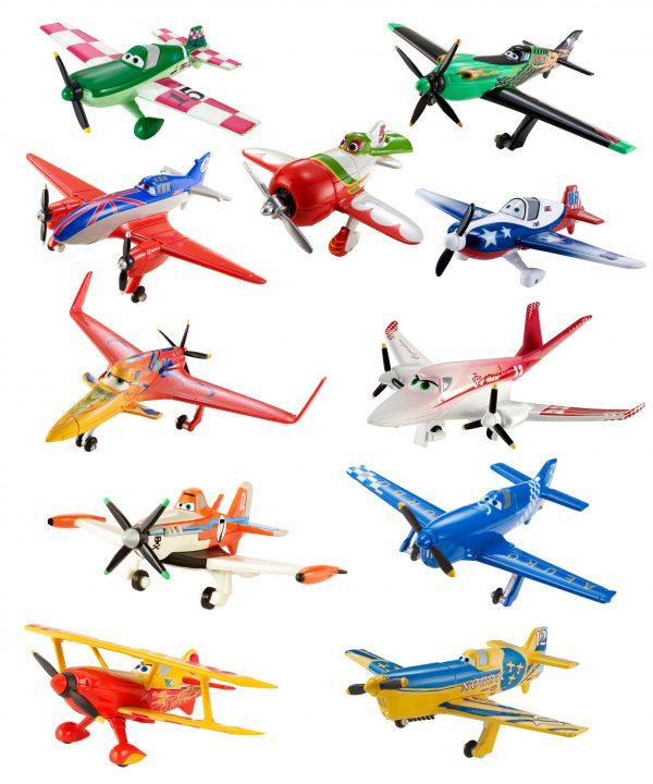 Disney Planes Diecast Plane Collection, 11-Pack