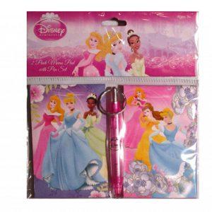 Disney Princess 2 Piece Memo Pad Set With Pen