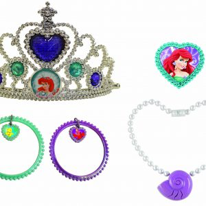 Disney Princess Ariel Lights and Sound Jewelry Set