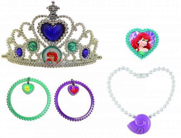 Disney Princess Ariel Lights and Sound Jewelry Set