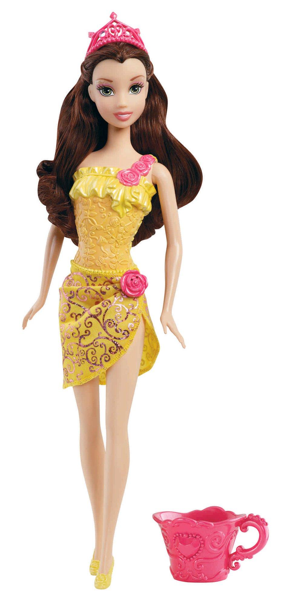 Disney Princess Bath Beauty Belle Doll 2012 Toysplus