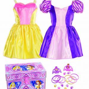 Disney Princess Bling Rapunzel and Belle Dress-Up Trunk