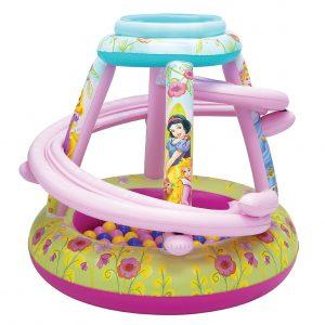 "Disney Princess Cherished Friends Ball Pit, 1 Inflatable & 50 Sof-Flex Balls, Pink, 43""W x 43""D x 38""H"