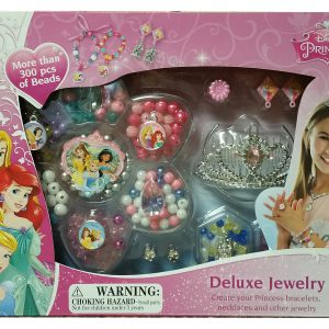 Disney Princess Deluxe Dress Up Jewelry Kit 300+ Pieces